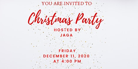 JAGA Christmas Party tickets