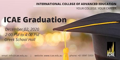 ICAE Graduation - December 2020 (Guests) tickets