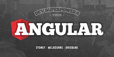 Angular Superpowers Tour - Melbourne tickets