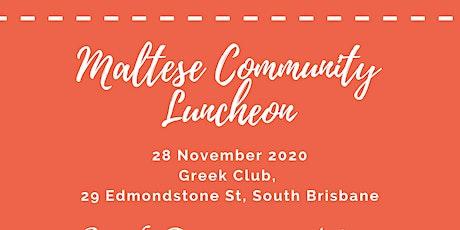 Maltese Community Luncheon tickets