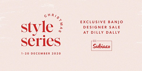 Exclusive Banjo Designer Sale at Dilly Dally tickets