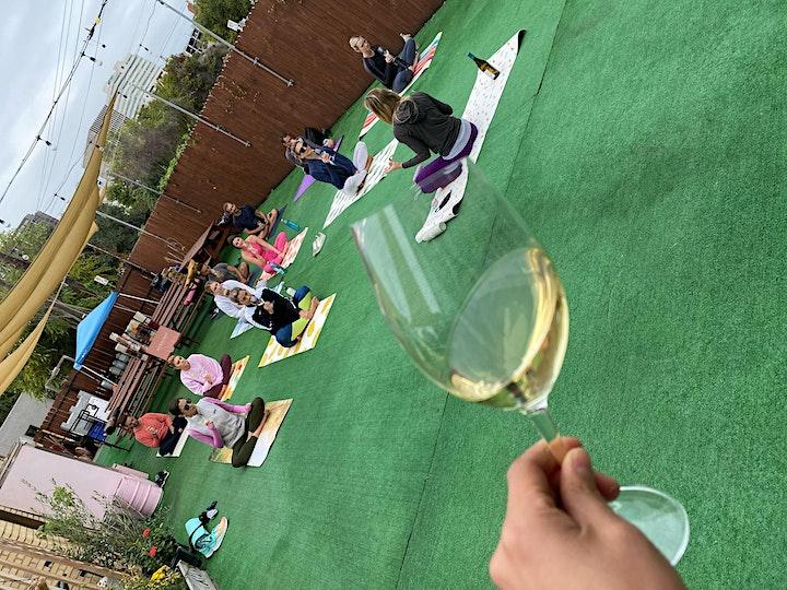 Vino Vinyasa at Wanderlust Wine Co. image