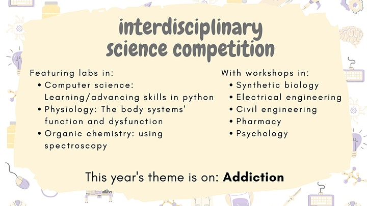 Interdisciplinary Science Competition 2021 image