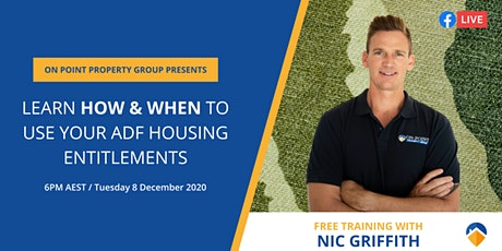 ADF Housing Entitlements. Learn here HOW & WHEN to use them. tickets