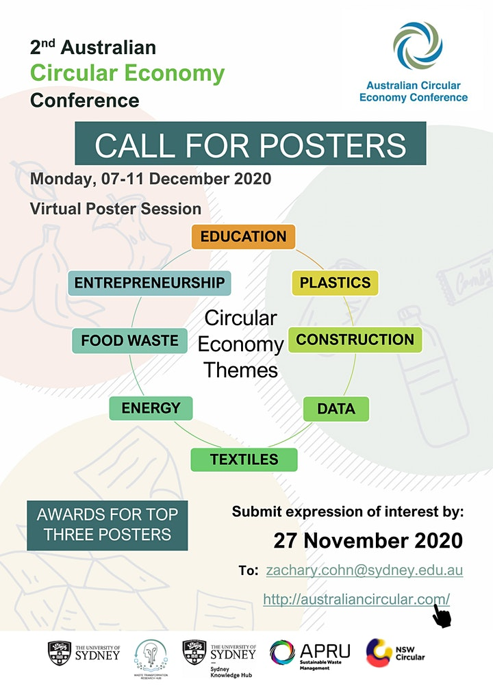 Poster Session - Australian Circular Economy Conference 2020 image