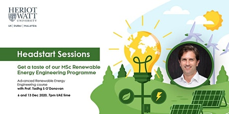 Advanced Renewable Energy Engineering Head-Start Sessions tickets