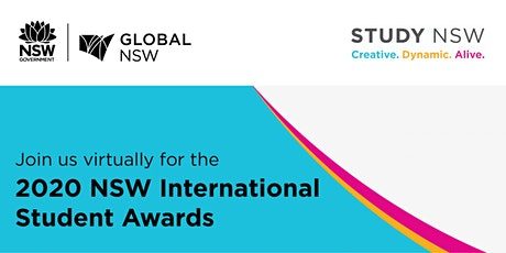 2020 NSW International Student Awards - Virtual Ceremony tickets