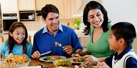 Principios a la hora de las Comidas Familiares para Cuidadores y Padres tickets