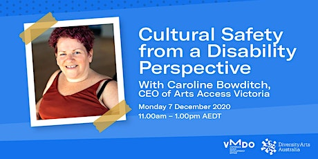 Cultural Safety from a Disability Perspective tickets