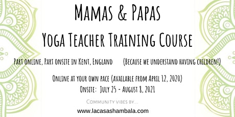 Mamas & Papas Yoga Teacher Training Course tickets