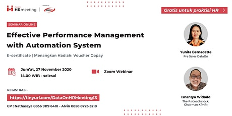 Effective Performance Management with Automation System   DataOn HR Meeting tickets