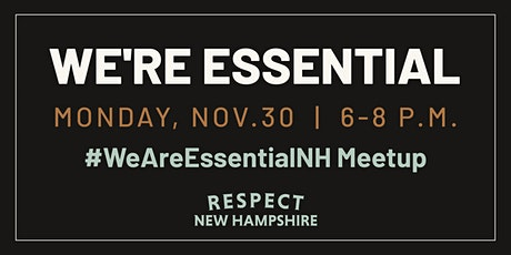 We Are Essential Meetup tickets