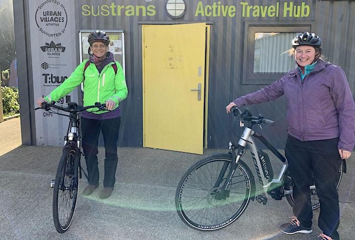 E-Bike Trial - CS Lewis Square, Belfast image