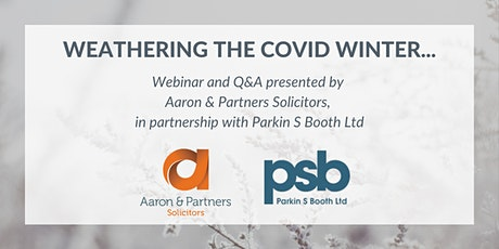 Weathering the Covid Winter:  Webinar and Q&A tickets