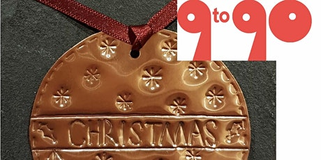 "9to90  presents ""Making Christmas Decorations in Embossed Metals"" tickets"