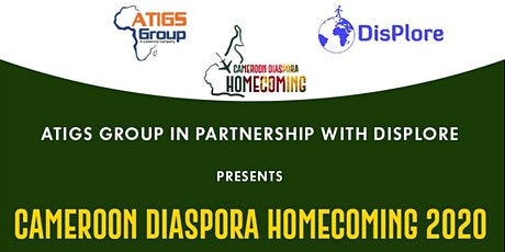 Cameroon Diaspora Homecoming 2020 billets