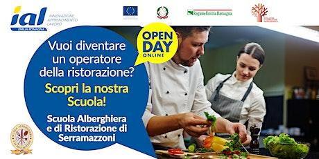 Open Day online Scuola Alberghiera e di Ristorazione Serramazzoni biglietti