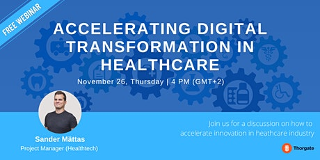 Accelerating Digital Transformation in Healthcare tickets
