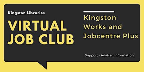 Kingston Works and Jobcentre Plus - Kingston Libraries Virtual Job Club tickets