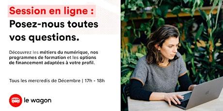 Soirée Portes Ouvertes en ligne tickets