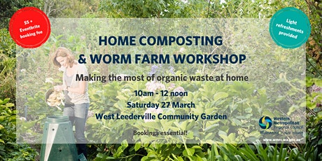 Compost & Worm Farm Workshop tickets