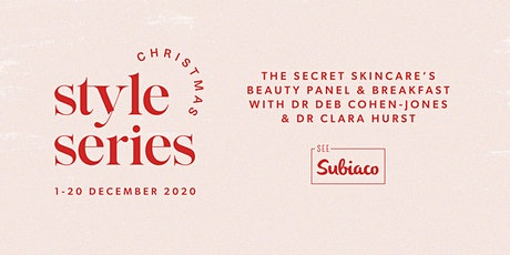 The Secret Skincare's Beauty Panel and Breakfast tickets