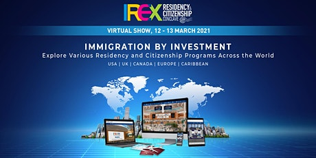 IREX Residency & Citizenship Conclave 2021, Virtual Edition tickets