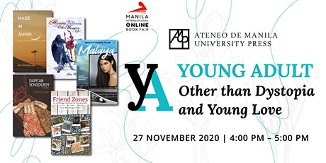 YA: Other than Dystopia and Young Love tickets