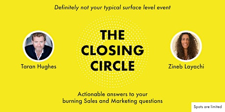 The Closing Circle biglietti