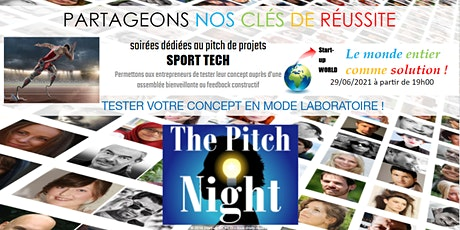"Pitch Night Paris spécial ""SportTech"" billets"