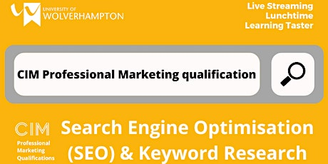 Search Engine Optimisation (SEO) & Keyword Research tickets