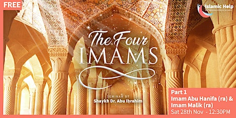 The Four Imams - Part 1 tickets