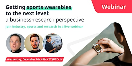 Getting Sports Wearables to the next level: a business-research perspective tickets