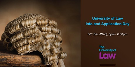 University of Law Info and Application Day tickets