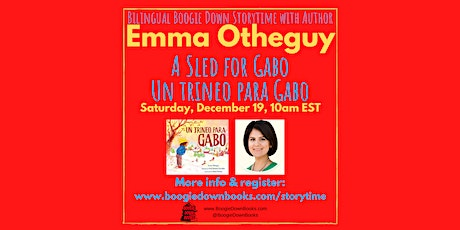 Virtual Boogie Down Storytime with Emma Otheguy (December 19) tickets