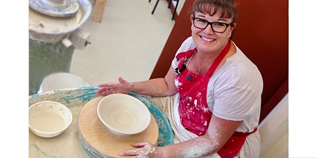 POTTERY  CLASS - Wheel Throwing (Saturday afternoon 6 week course) tickets