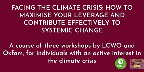 Facing the climate crisis: how to maximise your leverage tickets