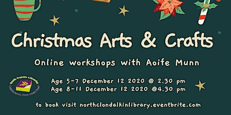 5 - 7 year old Christmas arts and crafts tickets