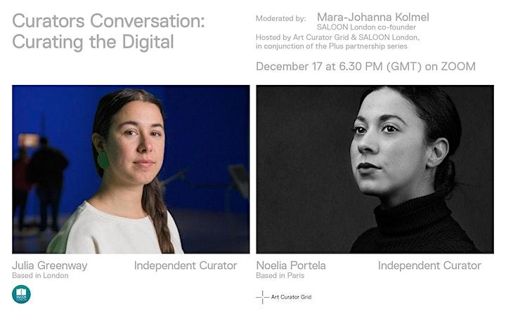 Curators Conversation: Curating the Digital image