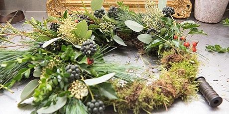 Chapelton Wreath Making Class at Elsick House - Socially Distanced tickets