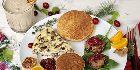 Virtual Cooking Class:Healthy Holiday Brunch tickets