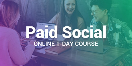 Social Media Advertising - Online 1-Day Course tickets