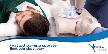 QA Level 3 Award in Emergency First Aid at Work (RQF) tickets