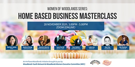 Women of Woodlands Series: Home Based Business Masterclass tickets