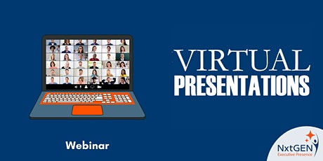 WEBINAR - Virtual Presentation Skills tickets