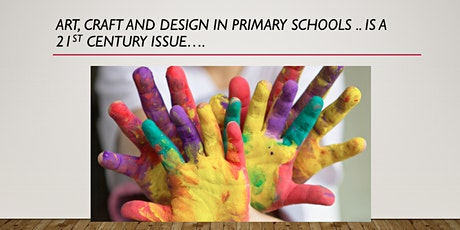 Teaching Primary Art and Design: online twilight CPD tickets