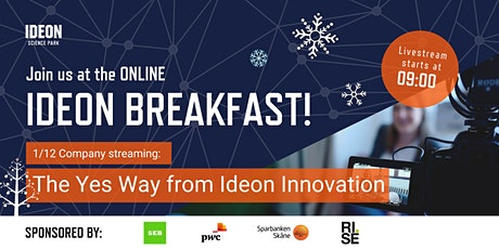 Ideon Breakfast Online with The Yes Way from Ideon Innovation