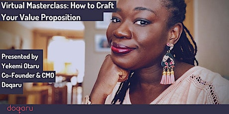 How to Craft Your Value Proposition Masterclass tickets