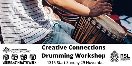 Creative Connections - Drumming Workshop tickets
