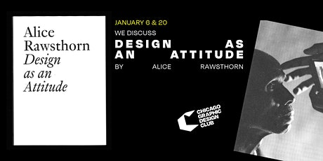Design as an Attitude by Alice Rawsthorn | Book Discussion tickets